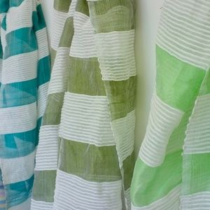 Accessories - Sea Green, Olive, and Mint Scarves